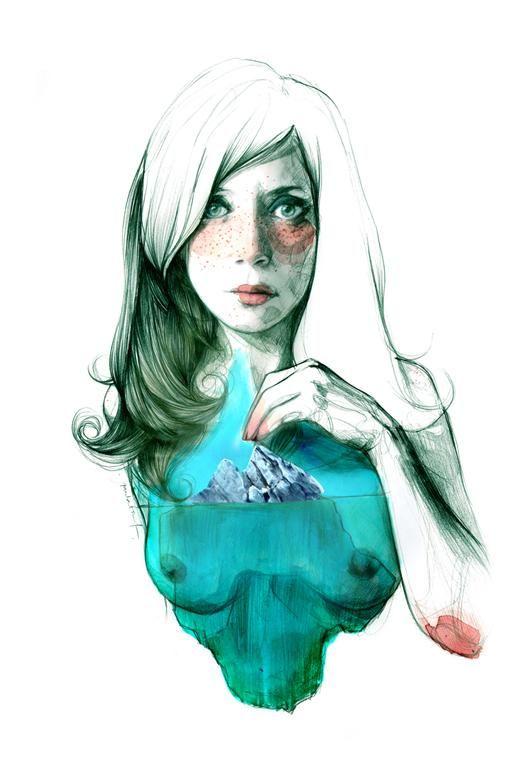 Paula Bonet. Dona iceberg, 2013. Image courtesy of AECID.