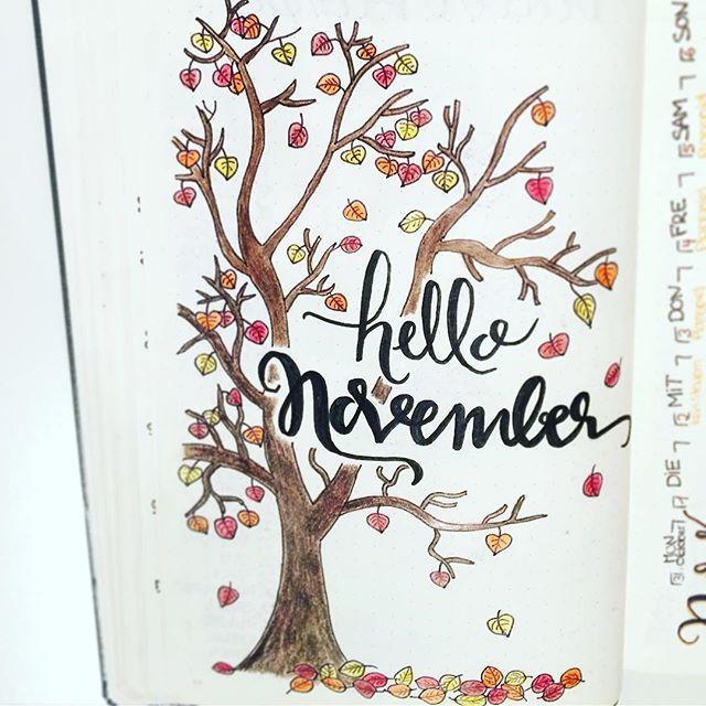 Beautiful November page!