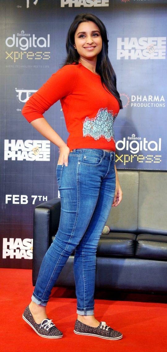 Parineeti Chopra promoting Hasee Toh Phasee. #Style #Bollywood #Fashion #Beauty