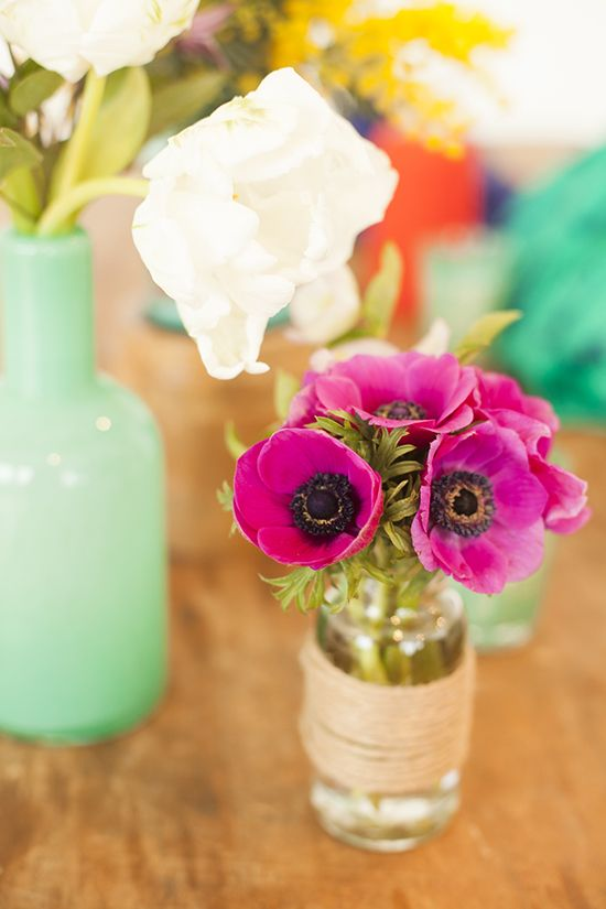 Colorful and simple arrangements