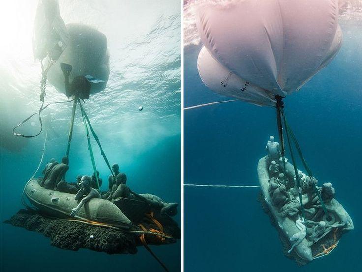 Europe's First Underwater Sculpture Museum | SALYP