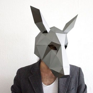 25 unique donkey mask ideas on pinterest paper mache for Donkey face mask template