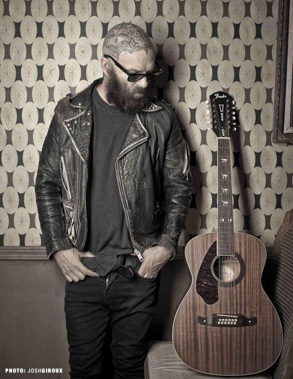 Tim Armstrong Hellcat-12 Left Handed | Concert Acoustic Guitars | Fender® Acoustic Guitars
