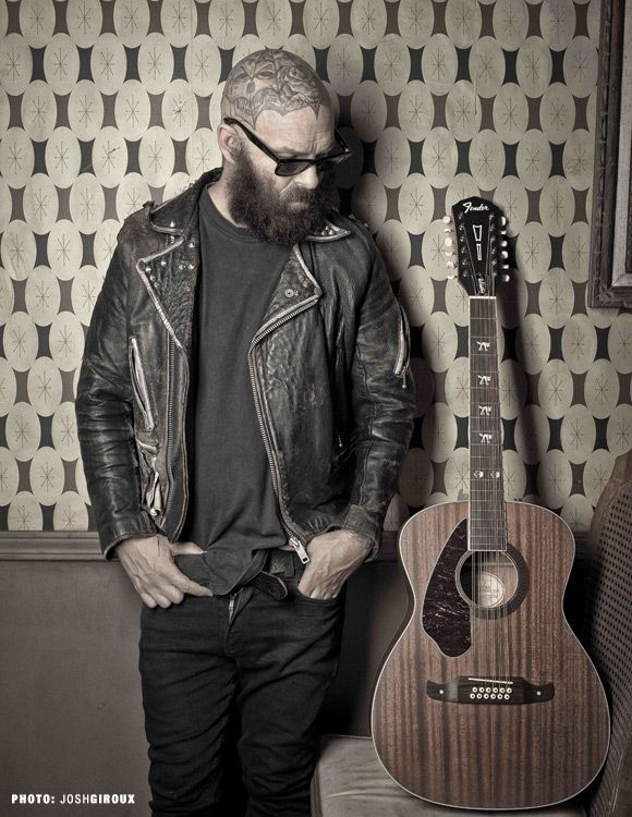 Tim Armstrong Hellcat-12 Left Handed | Concert Acoustic Guitars | Fender® Acoustic Guitars