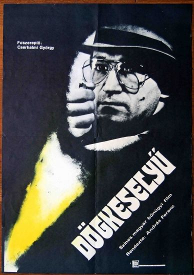 original vintage movie poster hungary 1982 cserhalmi gyorgy
