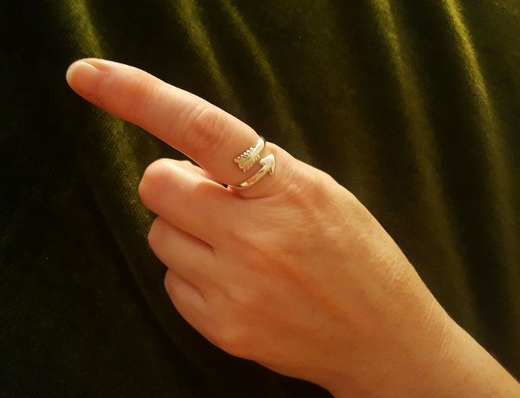 Ring - ARROW - Sterling Silver or 9ct Gold