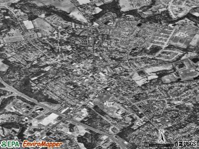 Bel Air satellite photo by USGS