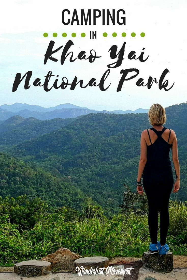 Camping in Khao Yai National Park | I spent the weekend exploring Thailand's oldest national park - Khao Yai. This sprawling park is almost three times the size of Singapore and home to a herd of 200 wild elephants! Read about what it's like to go hiking and camp in this beautiful part of Thailand or pin it and save it for later. | Travel in Thailand | Adventure Travel | Hiking