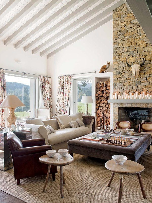 Old Barn Transformed Into Glamorous Cantabrian Country Home