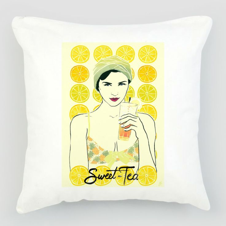 Sweet-Tea+Cushion+Cover+by+Pop+Design+Competition+on+POP.COM.AU