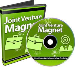 Joint Venture Magnet (8 Videos) http://www.plrsifu.com/joint-venture-magnet-8-videos/ Audio & Video, Resell Rights, Video #JointVenture Discover How to Attract Super JVs to Start Promoting Your Products and The Reason Why Most People Do it WRONG. Want to know how to approach super affiliates with big lists to promote your products or services?  Ever wonder why most of them say no?
