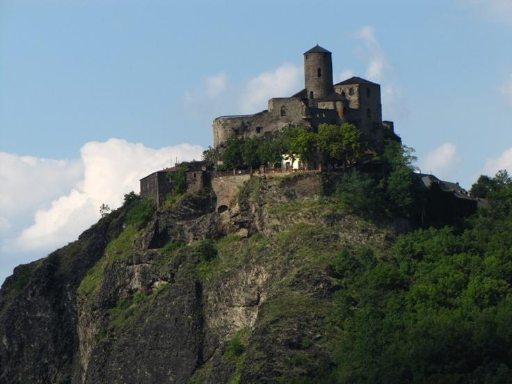 Střekov Castle - near Usti Nad Labem, Czech Republic