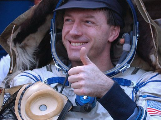 Chimp Astronaut Giving Thumbs Up (page 2) - Pics about space