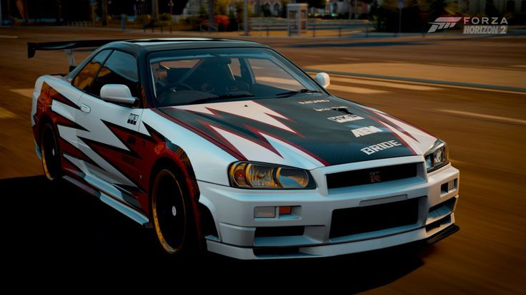Forza Horizon 2 - Nissan GT-R R34 by RyoFox630 on DeviantArt