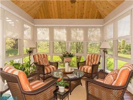 4 Season Room With Cedar And Tin Ceiling 9888 Morris Dr