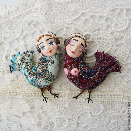 """Брошь+""""Птица+счастья""""+-+брошь,птичка,птица+счастья,бисер,оригинальный+подарок"""