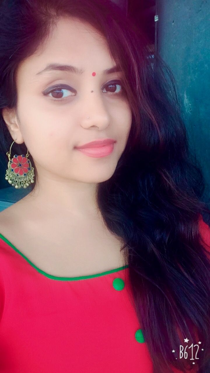 Indian jewellery red Afghan chandbali
