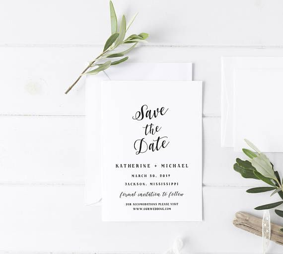 The 25+ best Save the date templates ideas on Pinterest Save the - save the date template
