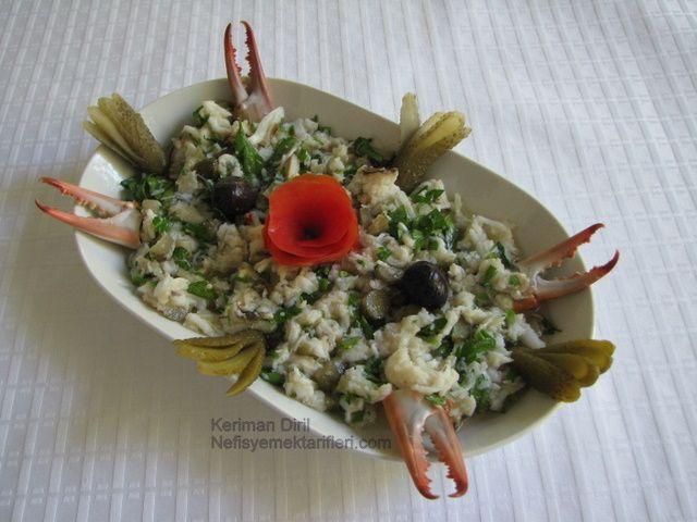 Mavi Yengeç Salatası Tarifi