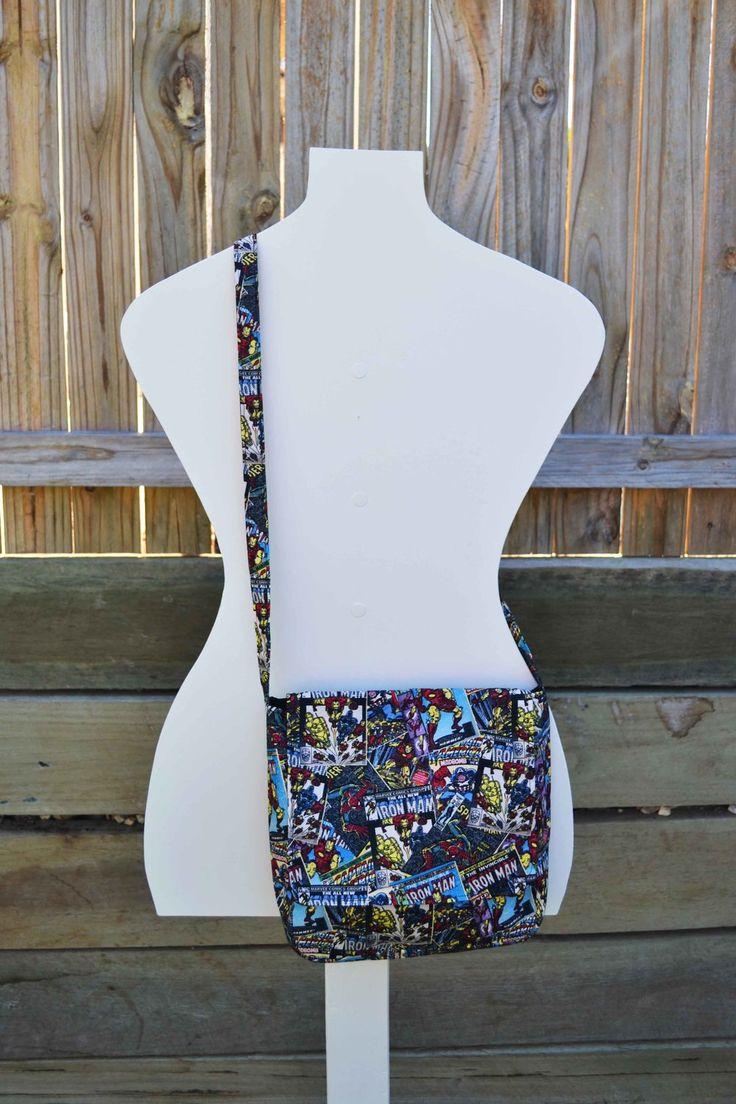 'Archie' Ironman Messenger Bag