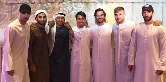 Premier Lig yıldızları Dubai'de