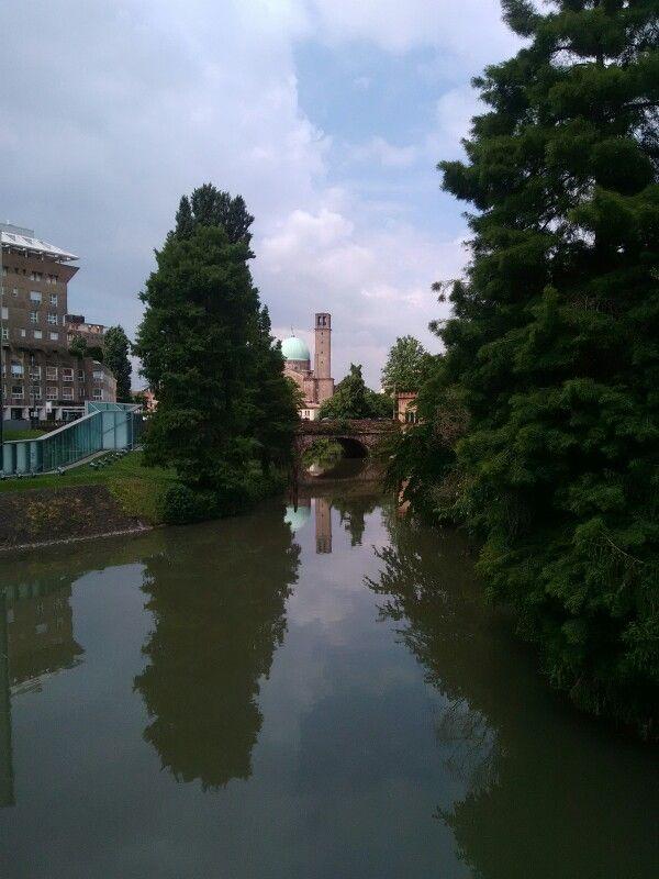 Water reflection Padova, Italy