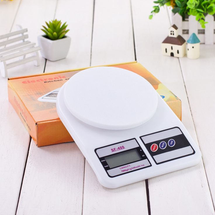 Digital LCD Electronic Kitchen Scale Food Weighing Postal Scales Cooking Measure Tools 5kg 10kg/1g 1kg/0.1g #Affiliate