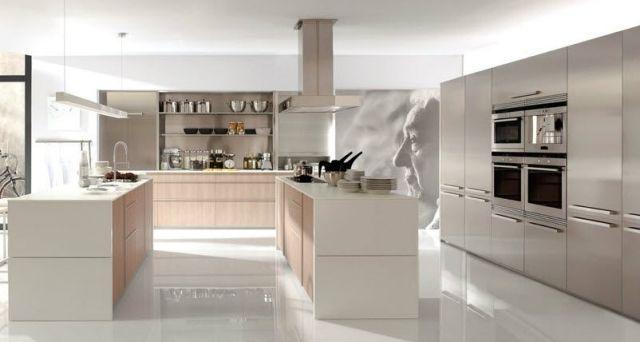 ehrfurchtig moderne kochinsel in der kche 71 perfekte design ideen im gesamten kuche mit insel modernenjpg 640342 kche pinterest modern - Moderne Kochinsel