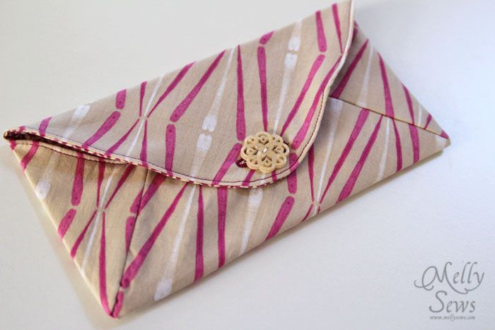 Envelope Clutch by Melly Sews from See Kate Sew's pattern
