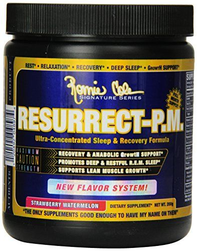 Ronnie Coleman Signature Series Resurrect-PM Supplement, Strawberry Watermelon, 200 Gram - http://www.imuscletalk.com