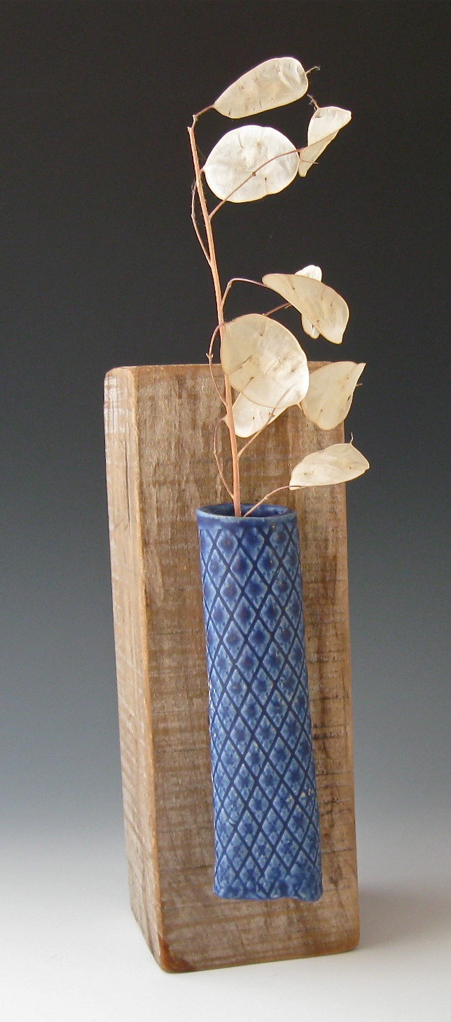 27 best wall flowers images on pinterest wall flowers wall lapis blue wall vase reviewsmspy