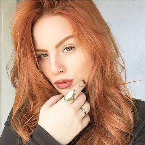 A linda da @redrumcecilia ✨ (Majirel 7.4 + Ox30) #ruivo #ruiva #redhair #ruivosdobrasil