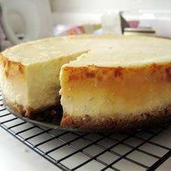 "Cheesecake Supreme Allrecipes.com...... I'm gonna make a ""real"" cheesecake:)"
