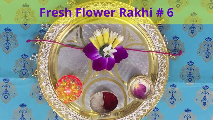 Rakhi Making # Fresh Flower # 6