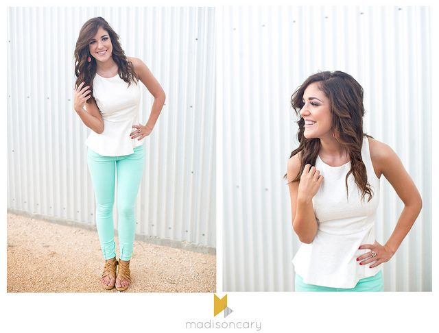 izzie // senior girl 2014 by madisoncary photography, midland texas // senior portrait outfit ideas