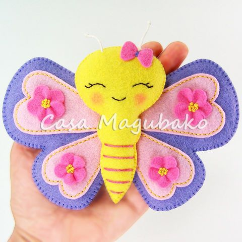 Felt Butterfly Digital Pattern – PDF File                                                                                                                                                     More