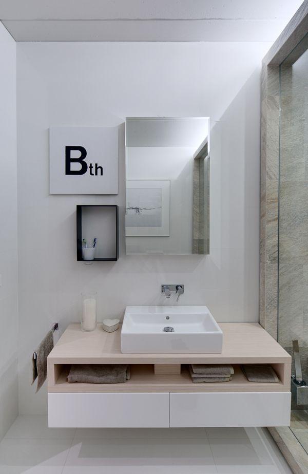 lipinka apartment by Slava Balbek, via Behance. Is this #Heisenberg's bathroom?