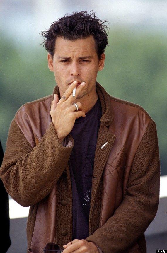 Jonhy Deep smoking