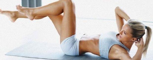Wil je graag 'n slanke taille en sexy platte buik? Met deze oefeningen werk je toe naar jouw ideale silhouet.Start nu en krijg in 6 weken een plattere buik.