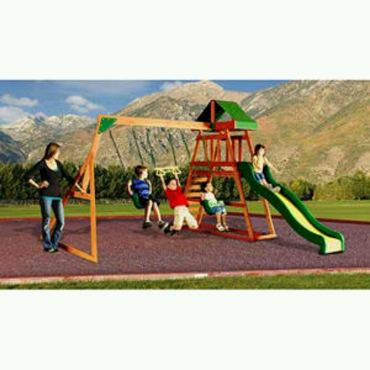 Perfect for Jacob and not too expensive | Wooden swing set ...