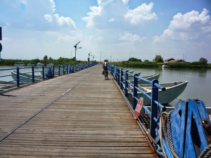 Boat bridge, Delta del Po'
