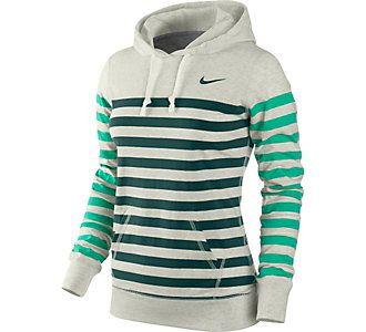 Nike Womens Stripe Jersey Hoodie | Scheels