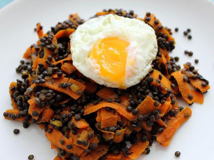 Kořeněná černá čočka s mrkví   Cooking with Šůša