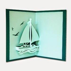 Les bateaux en kirigami : origine, patrons gratuits, références d'un éditeur et photos