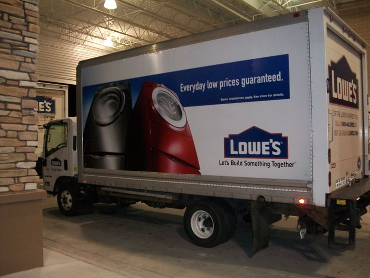 Lowes Price Guarantee Campaign The Lightest Brightest And Est Changeable Truck