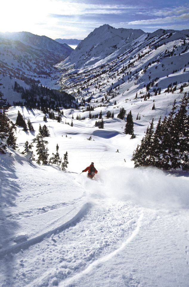 Ski Utah! See even in winter you can reconnect with nature, and get your fitness…
