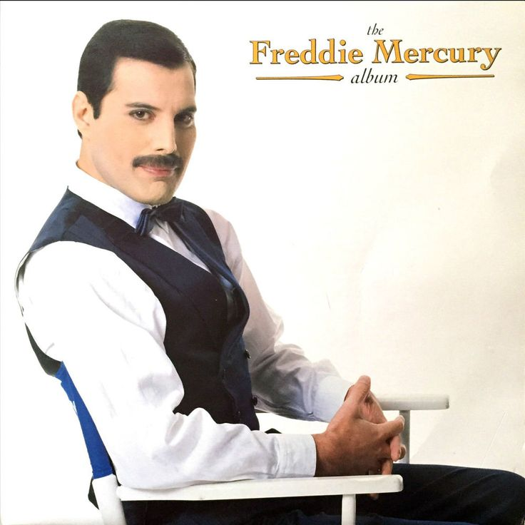 The Freddie Mercury Album Vinyl LP 1992 Original UK Release Parlophone-PCSD 124