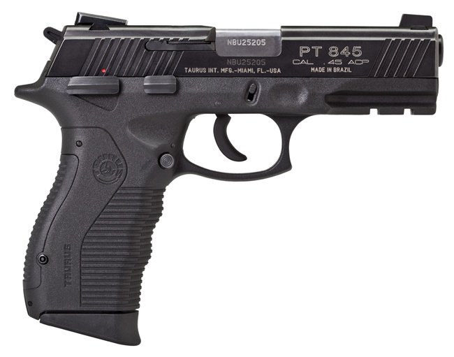 Taurus PT845 This new Taurus PT845 pistol has all the
