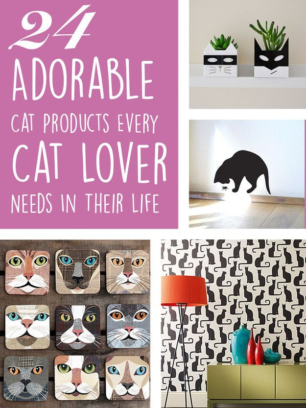 24 Adorable Products Every Cat Lover Needs In Their Home