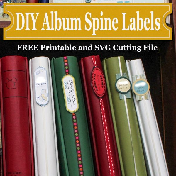 3 Easy Ways to Create Your Own Album Spine Labels Why You Should Consider Making Your Own Labels In the past I used a company to actually print on the spines of my albums so I could easily find